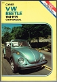 VW - Volkswagen Beetle and Ghia, 1961-1979: Shop Manual - Eric Jorgensen,‎ Jeff Robinson - 978-0892871445 - [10750]