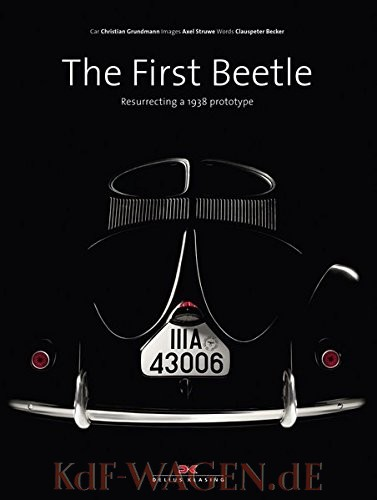 VW - The First Beetle: Resurrecting a 1938 prototype - Axel Struwe, Clauspeter Becker - 978-3768838504 - [10775]-1